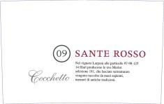 fronte SANTE ROSSO 2009
